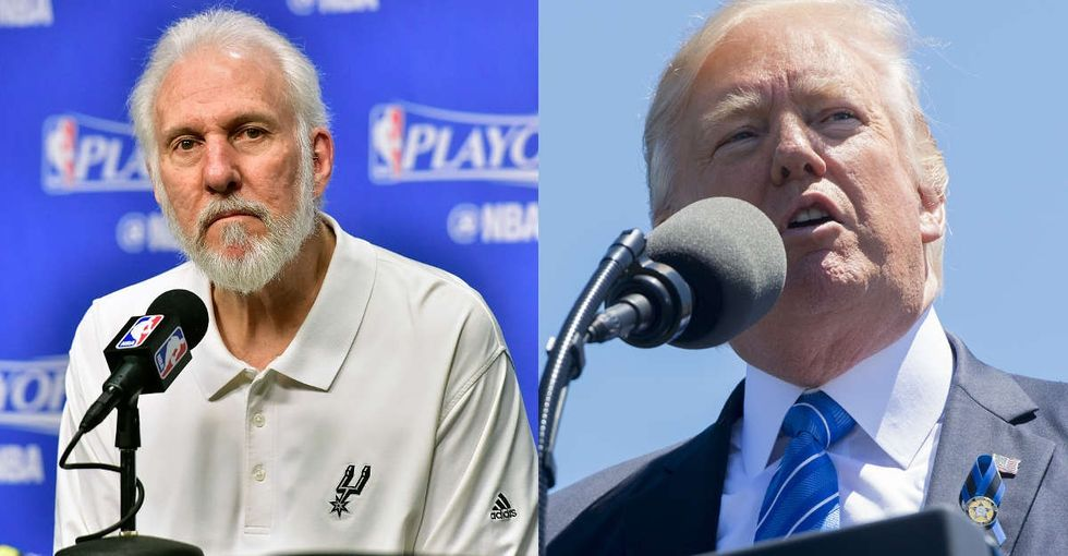 Gregg Popovich nailed what many Americans are feeling with Trump in the White House.
