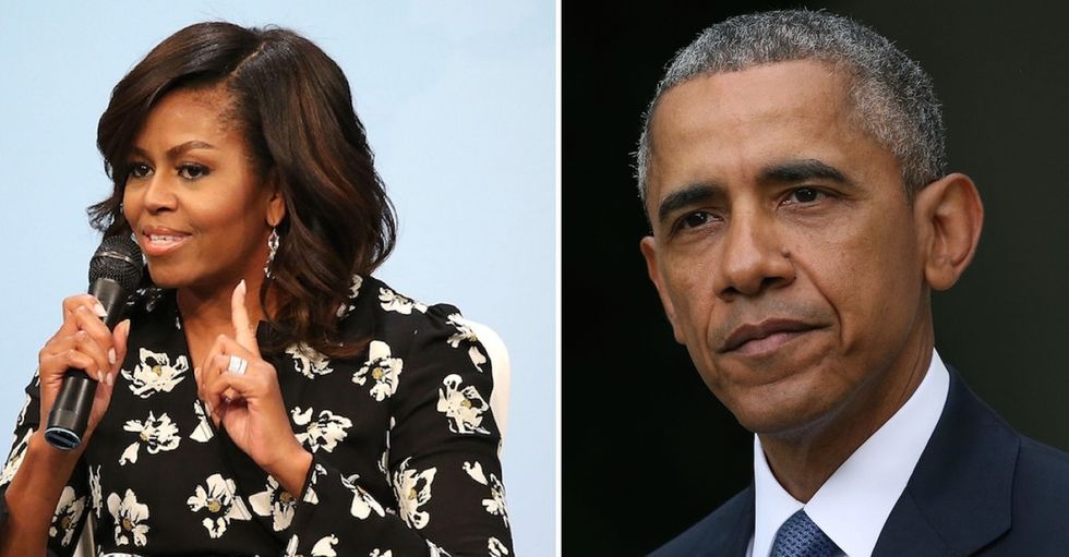 Why Michelle Obama says Barack needs more friends.