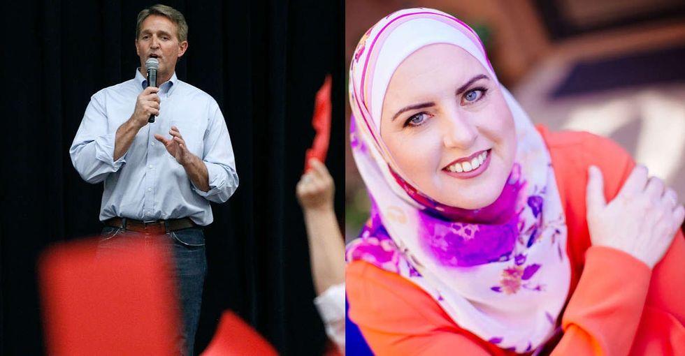 A Republican senator just defended his Muslim opponent against Islamophobic trolls.