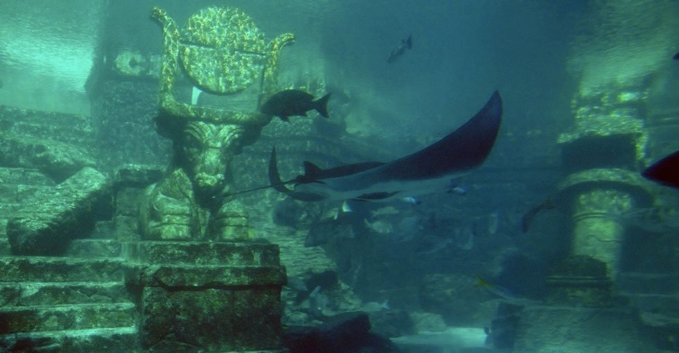 Atlantis is old-school 'fake news.' A college class used it to teach an important lesson.