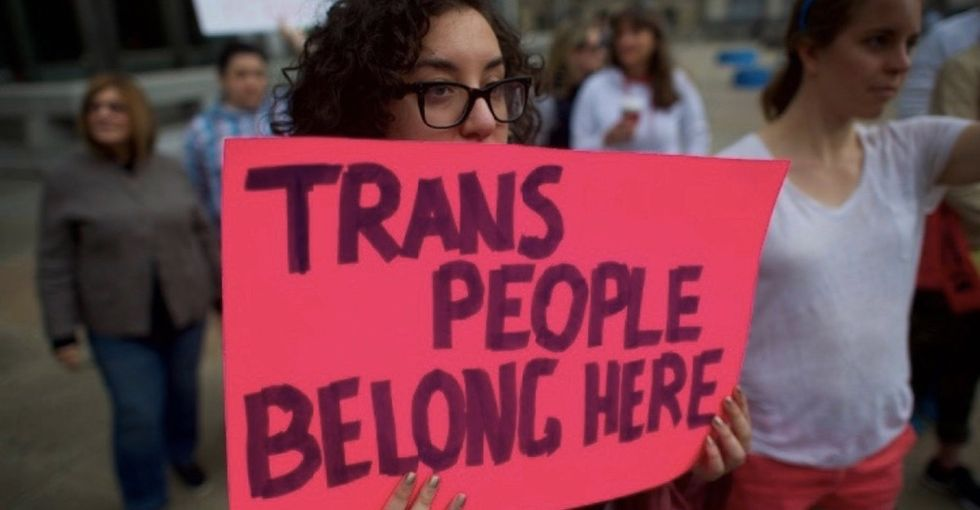 It's time to stand up for trans people. Here are 21 ways to show your support.