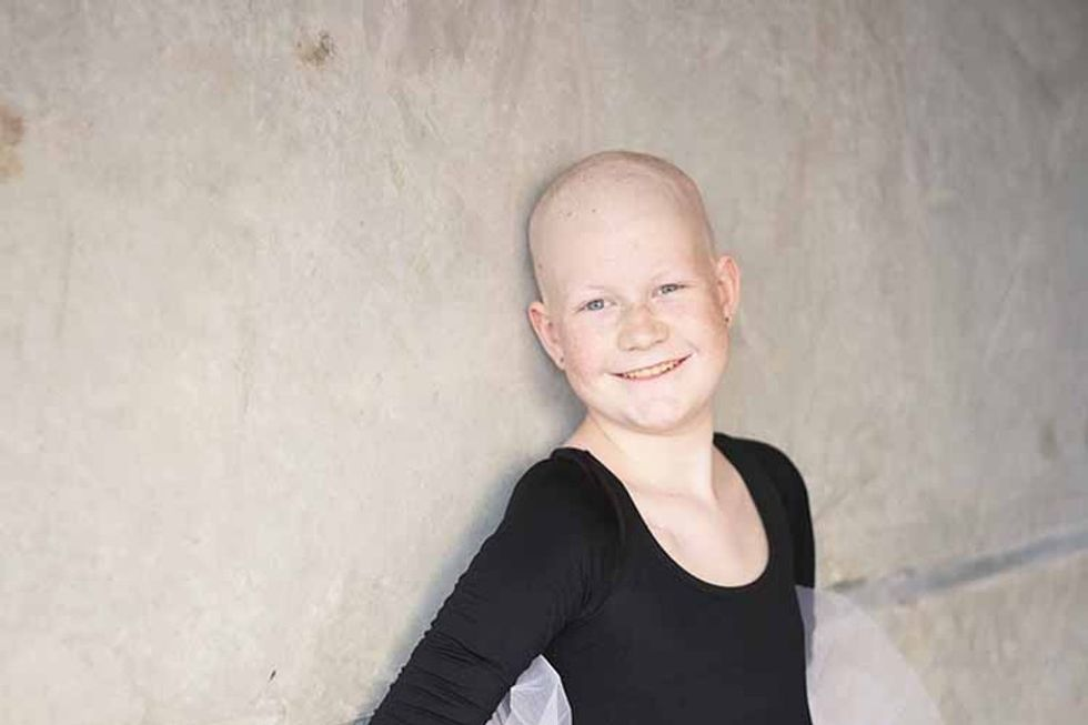 Ballet brought big joy for this courageous 14-year-old battling cancer.