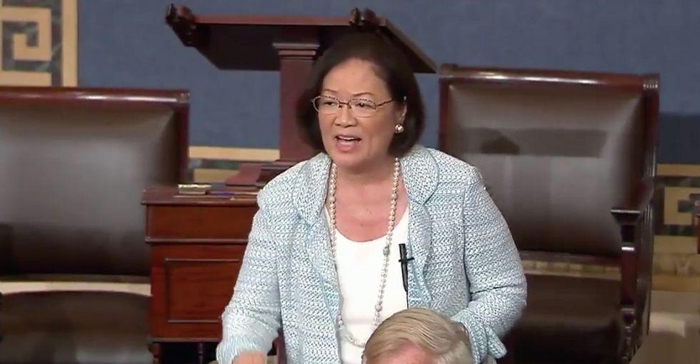 The best part of last night's health care debacle was this senator's heartfelt speech.