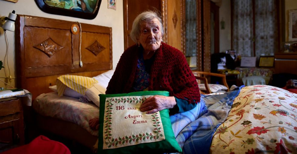 If you love being single, you'll love Emma Morano, once the oldest person on Earth.