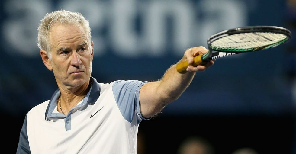 A tennis star claimed the sport is 'full of lesbians.' John McEnroe's response? Epic.