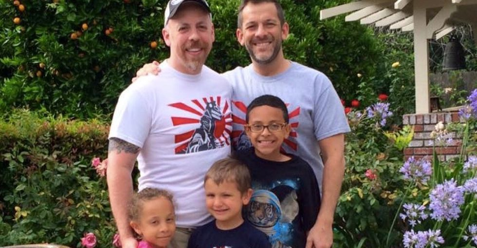We asked a gay dad what 'family' meant to him. This is the story he told.