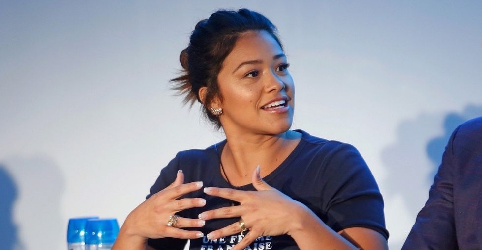 In a world that frames people with anxiety as 'weak,' Gina Rodriguez shoves back.