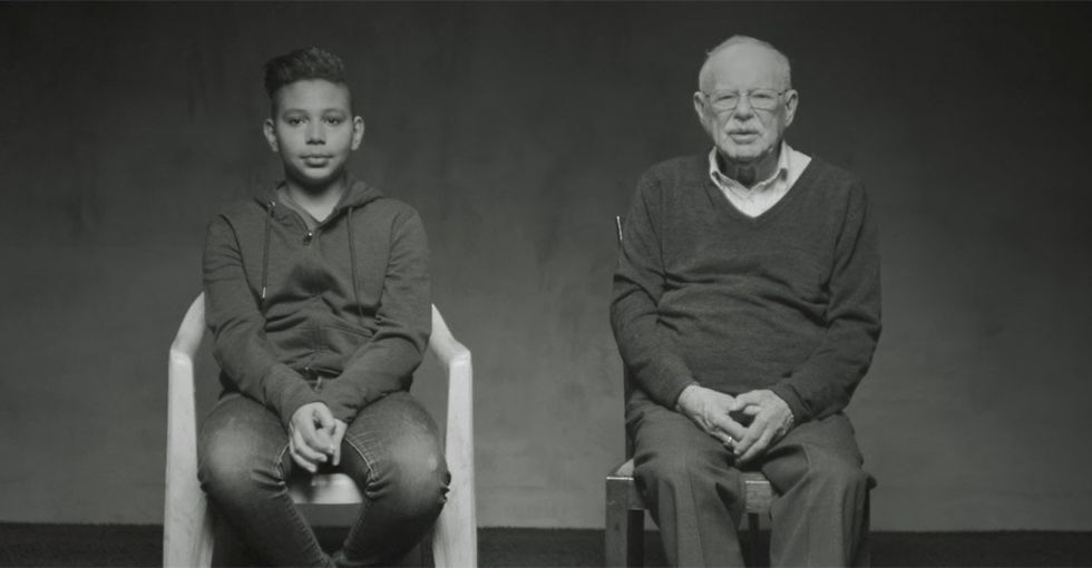 Ahmed is a refugee. Harry was too. Their 2-minute video is heartbreaking.