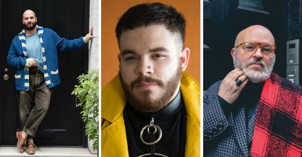 LGBTQ male models break down gender norms on new boundary-pushing site.
