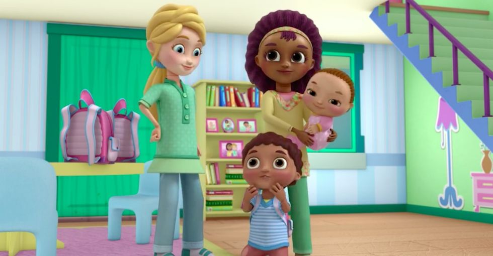Watch a clip of the controversial 'Doc McStuffins' episode featuring same-sex parents.