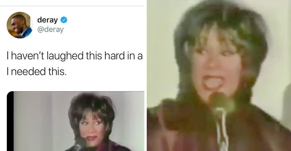 31 Days of Happiness Countdown: Patti LaBelle's disastrous holiday performance. (Day 25)