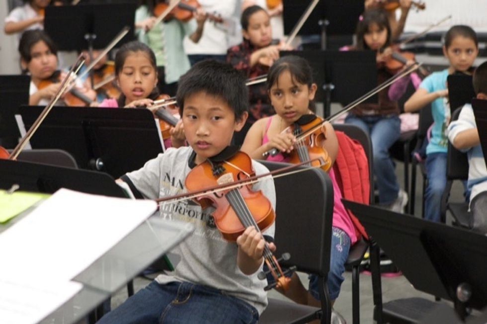 Can music help at-risk students succeed? This woman has set out to prove it can.