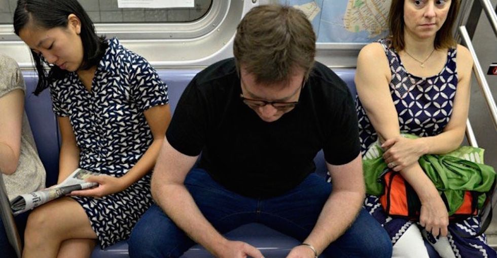 'No manspreading': Madrid adds a no-nonsense sign to its public transit vehicles.