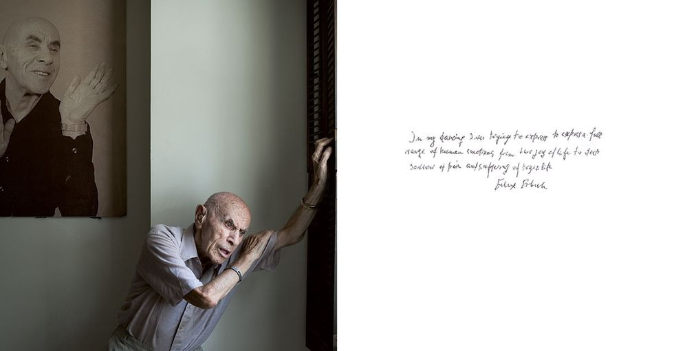 14 poignant pics of Holocaust survivors and 14 heart-wrenching notes to go with them.