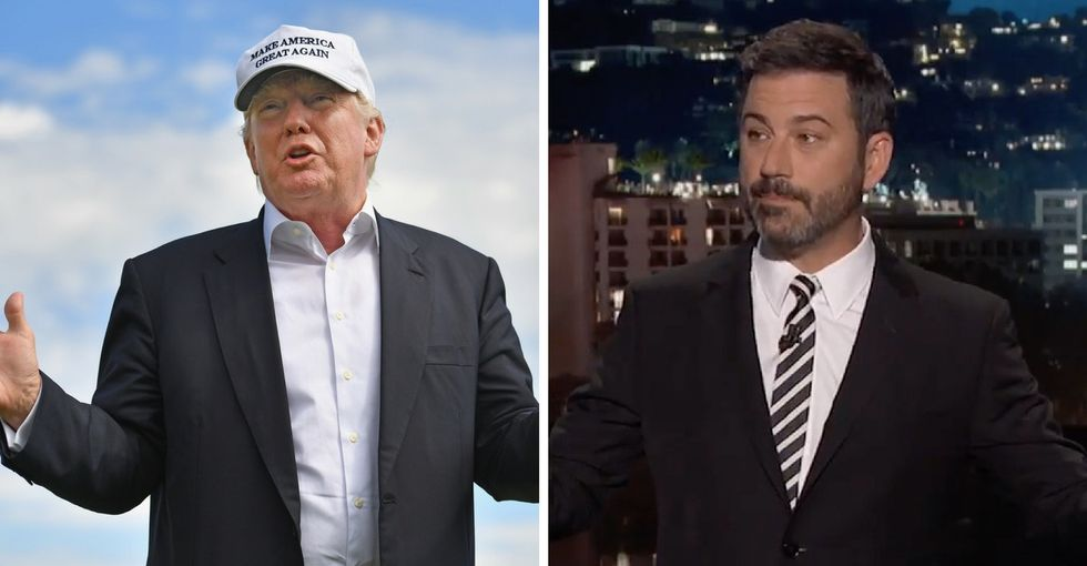 Jimmy Kimmel appealed directly to Trump voters during his monologue.