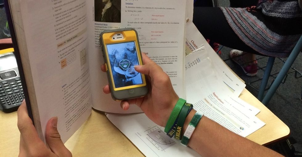 These struggling students finally found success in an unlikely place: their phone screens.