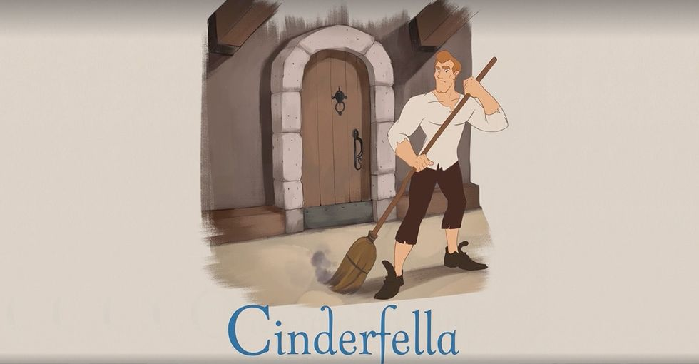 A book about 'Cinderfella' shows us how books for girls fall short.
