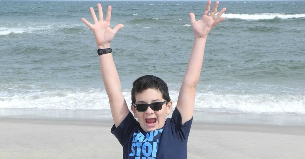 Here's why this boy has a kidney that's 3 times older than he is.