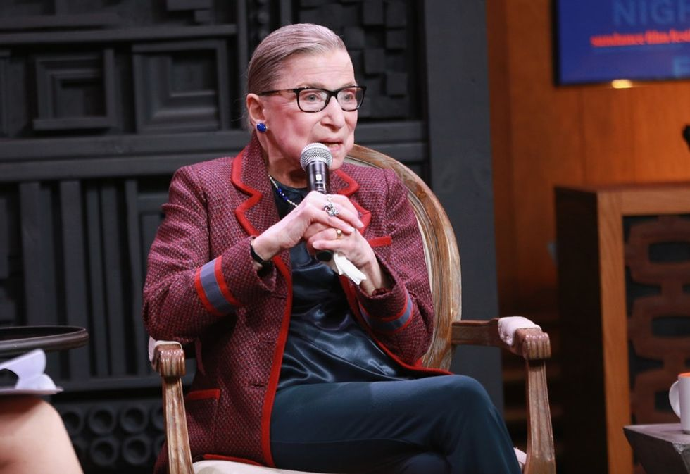 Ruth Bader Ginsburg pours cold water on #MeToo fears.