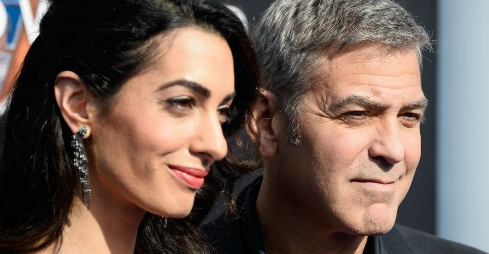 Florida shooting survivors now have Hollywood heavyweights in their corner: the Clooneys.