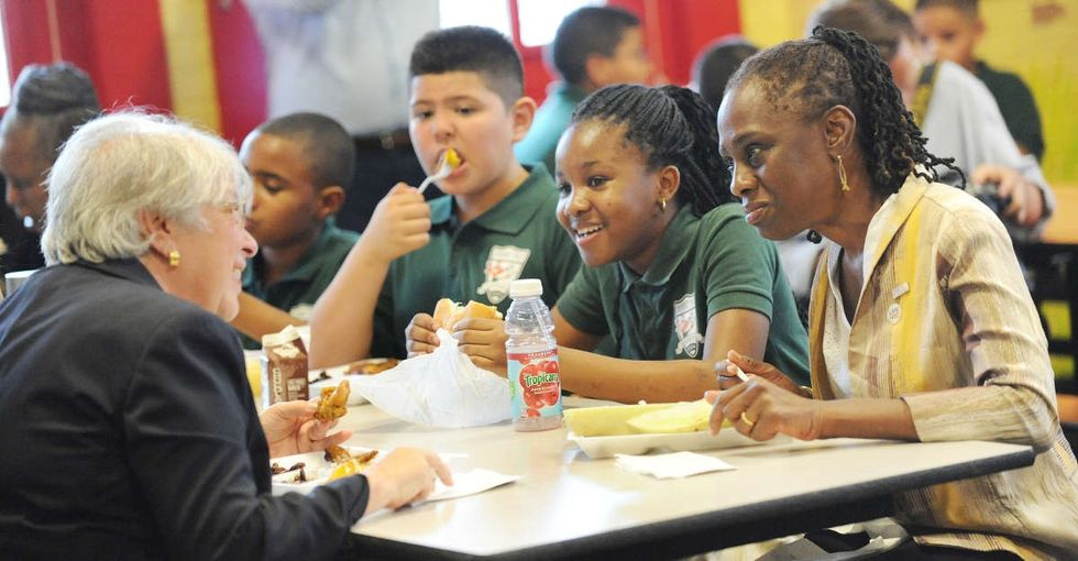 New York City has the biggest school system in the country. It just made lunch free.