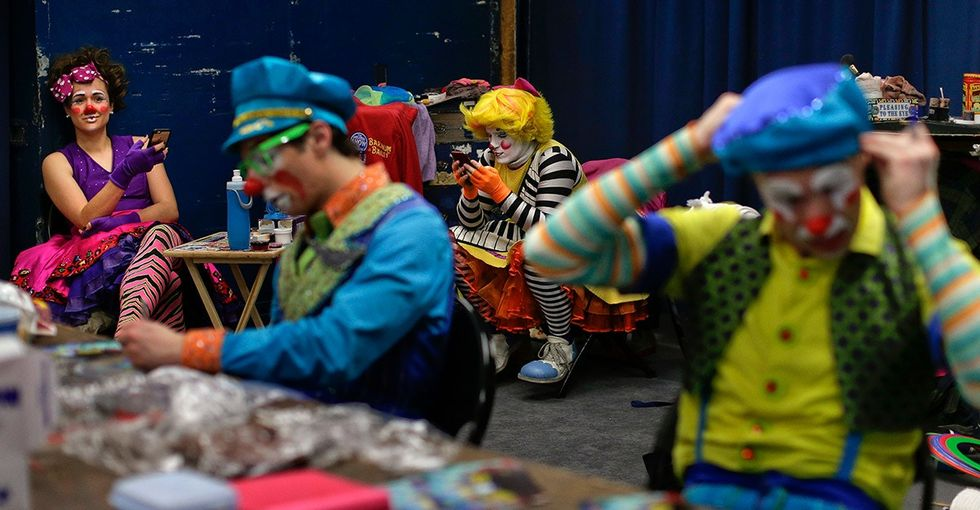 How the clowns said goodbye to Ringling Brothers circus.
