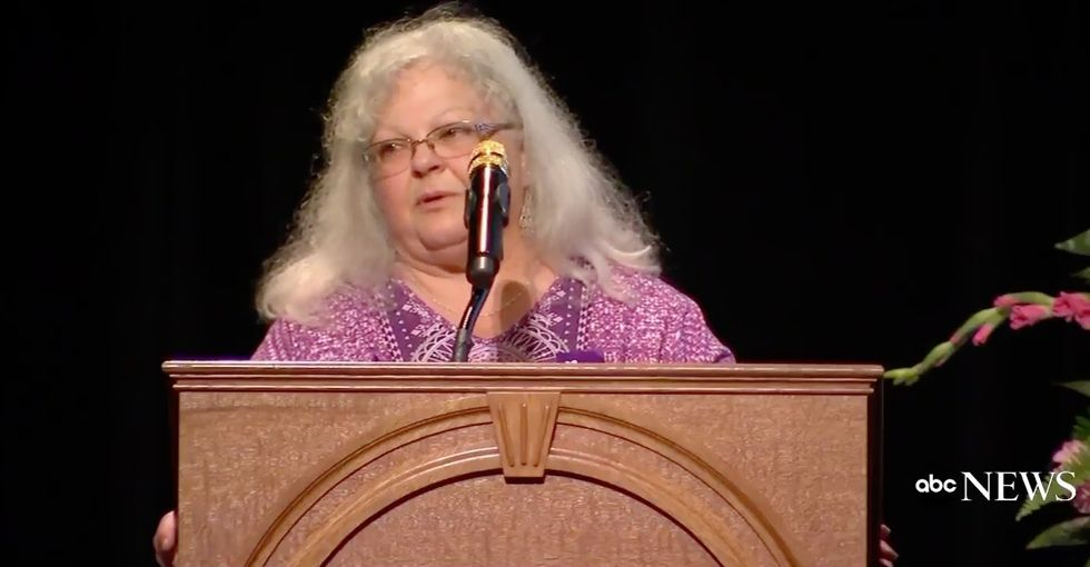 The mother of Heather Heyer, Charlottesville victim, just gave a must-watch speech.