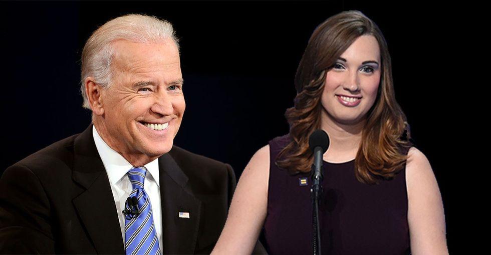 "Joe Biden: 'Equality is not a matter of ""identity politics.""'"