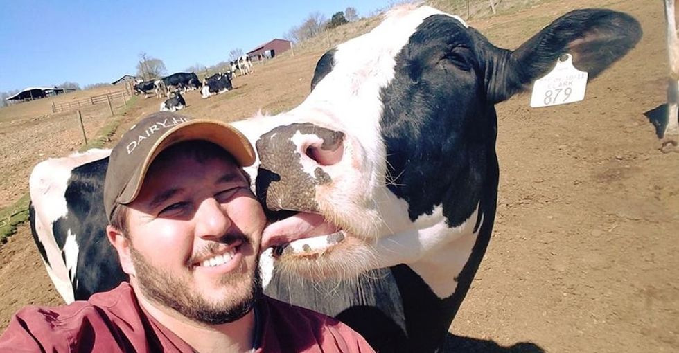 Matt Nuckols wants you to know a thing or two about dairy farm life.