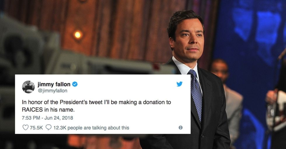 When Trump lashed out at Fallon, the late-night host responded with something much better.