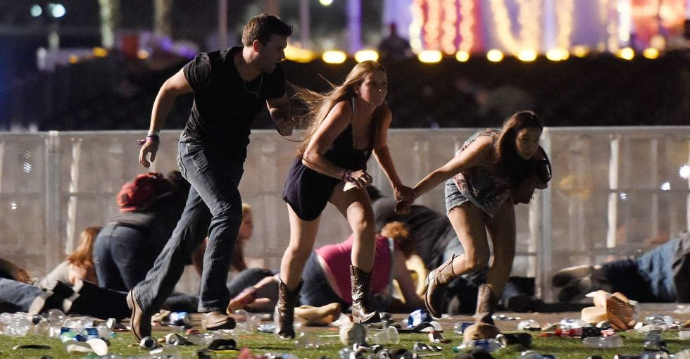 Asking people not to make Las Vegas 'political' means accepting this nightmare reality.