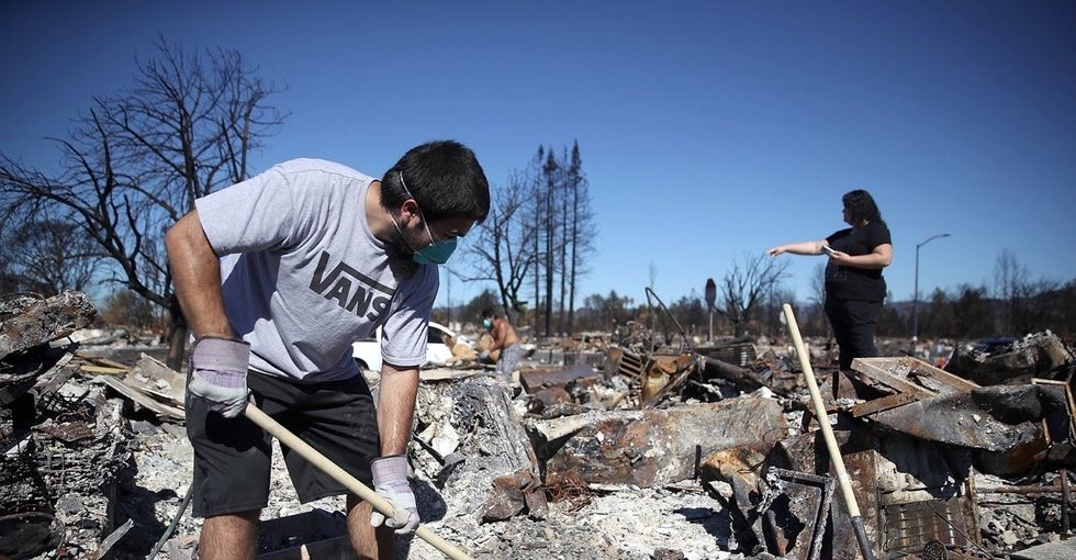 In photos: California's wine country starts recovery after devastating fires.