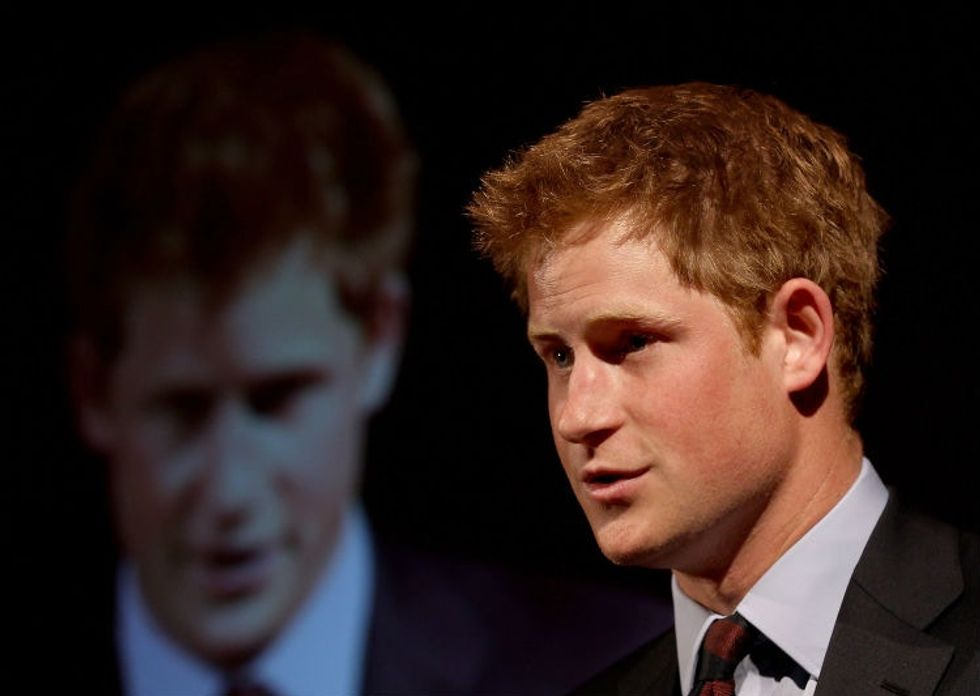 'Heart beating like a washing machine': Prince Harry describes his intense panic attacks.