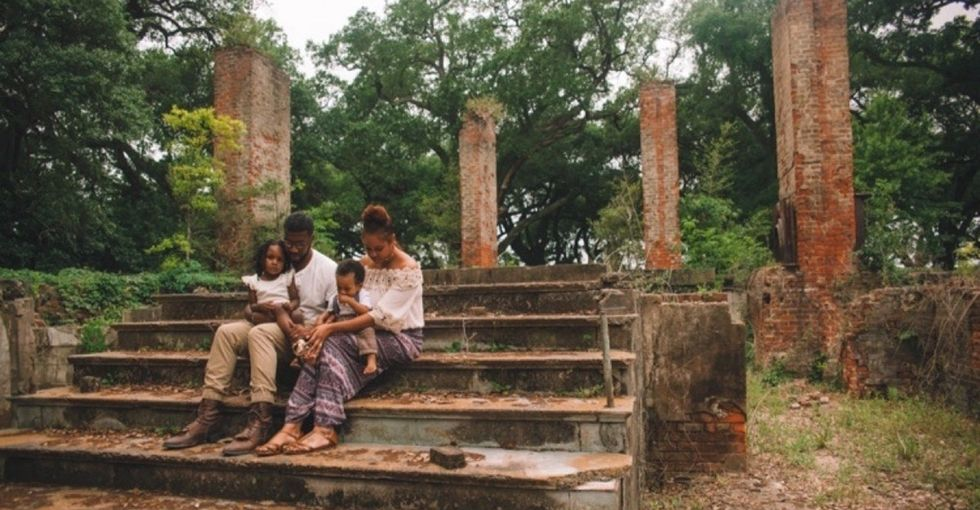The story behind the viral family portraits shot on a former plantation.