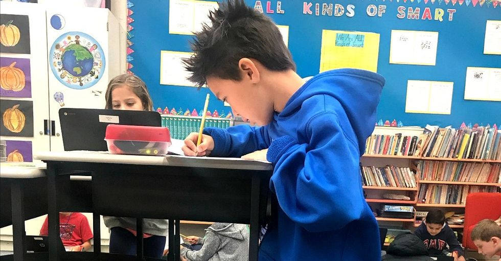 Her students were always tired and unfocused. Then standing desks changed everything.