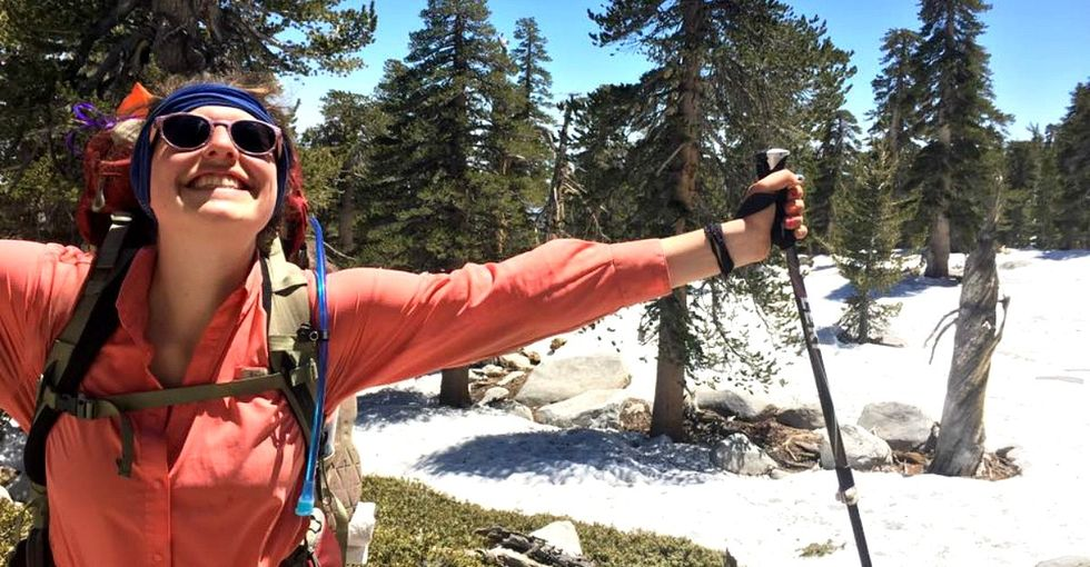 The reason this woman walked from Mexico to Canada over 5 months is highly personal.