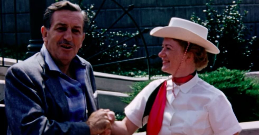 A man found his grandfather's Disneyland footage from 1956 and it's like visiting another, magical world.
