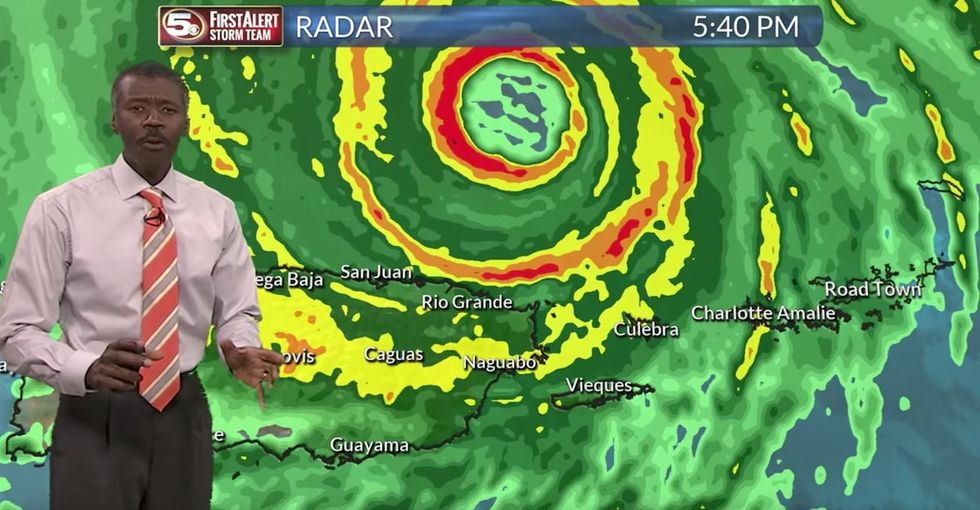 The 'best weatherman ever' became an internet hero after this viral Hurricane Irma report.