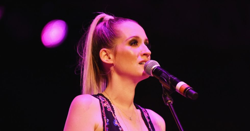 Ingrid Michaelson just put a terrifying and topical twist on one of her hit songs.