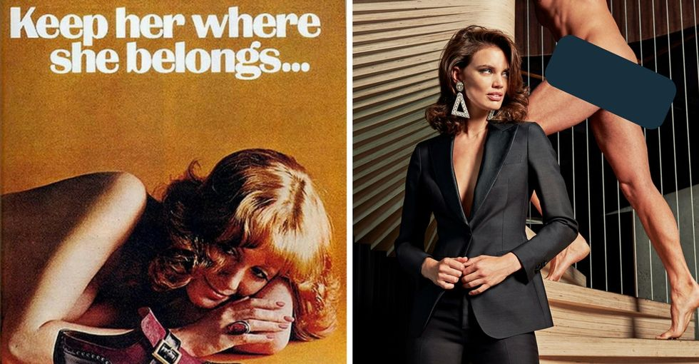 The history of sexist advertising is being flipped. It's amazing, but it's not enough.
