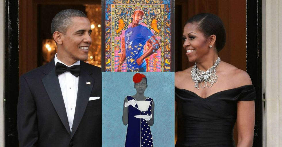 The artists painting the Obamas post-presidency portraits are incredible.