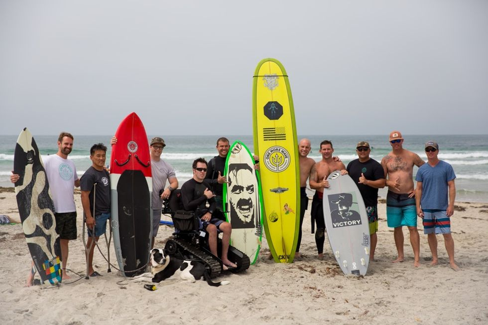 For these vets, getting the right surfboard was more than a gift — it was a lifeline.