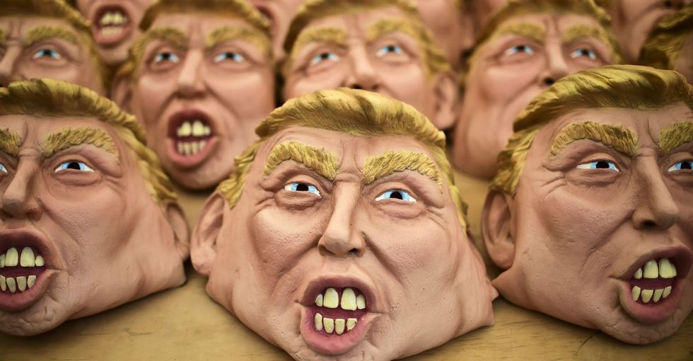 A study out before Halloween shows how terrified Americans are of Trumpcare.