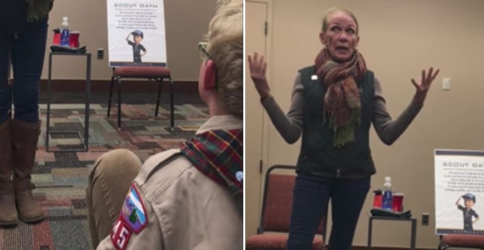 This 11-year-old Scout became a hero after grilling a senator on her policies.