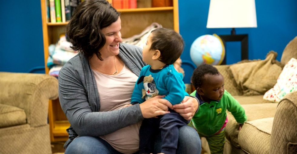 Why a photo of a little boy inspired this mom to turn her town into a refugee sanctuary.