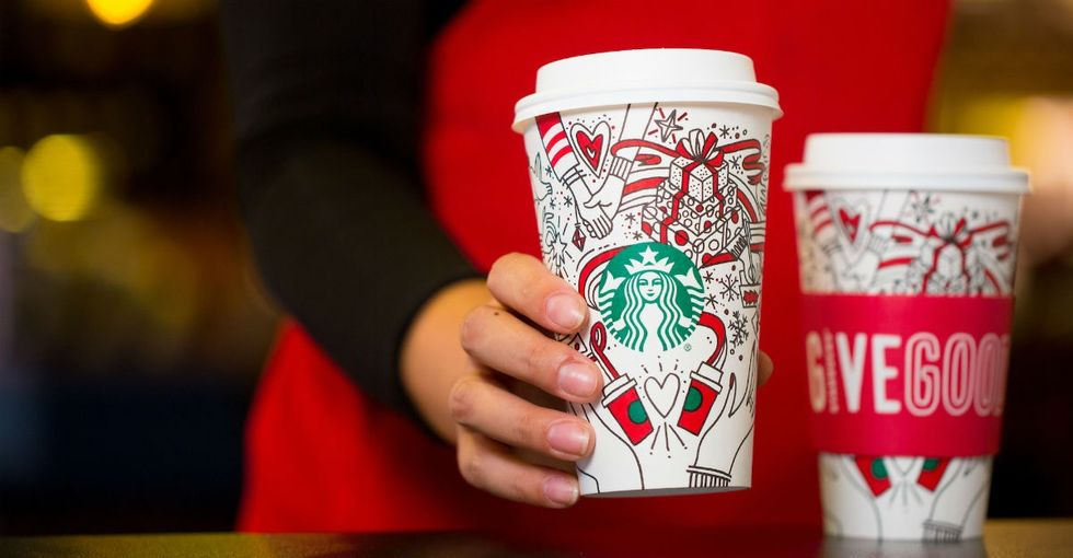 Leave it to Starbucks to subtly troll Trumpism in its new holiday ads.