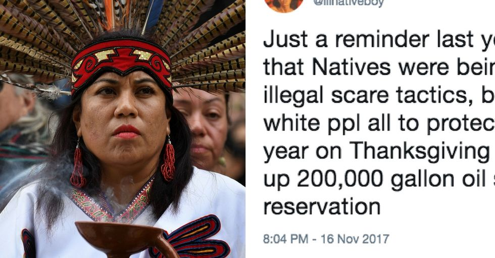 This viral tweet about Thanksgiving and Native Americans deserves our attention.