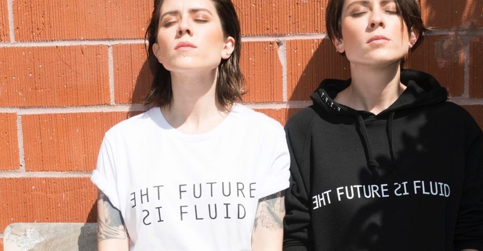 The future is fluid. That's the message behind this pop duo's latest LGBTQ campaign.