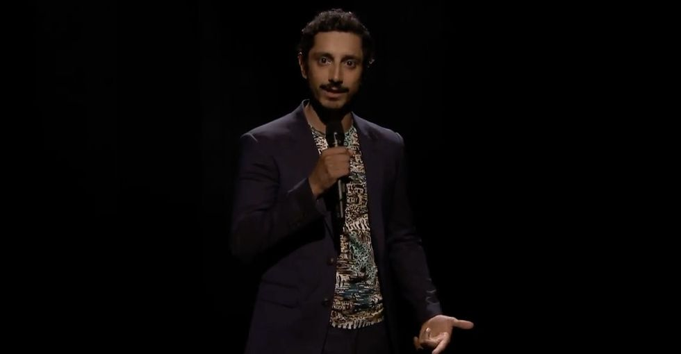 Riz Ahmed performed a moving spoken-word song in response to Charlottesville.