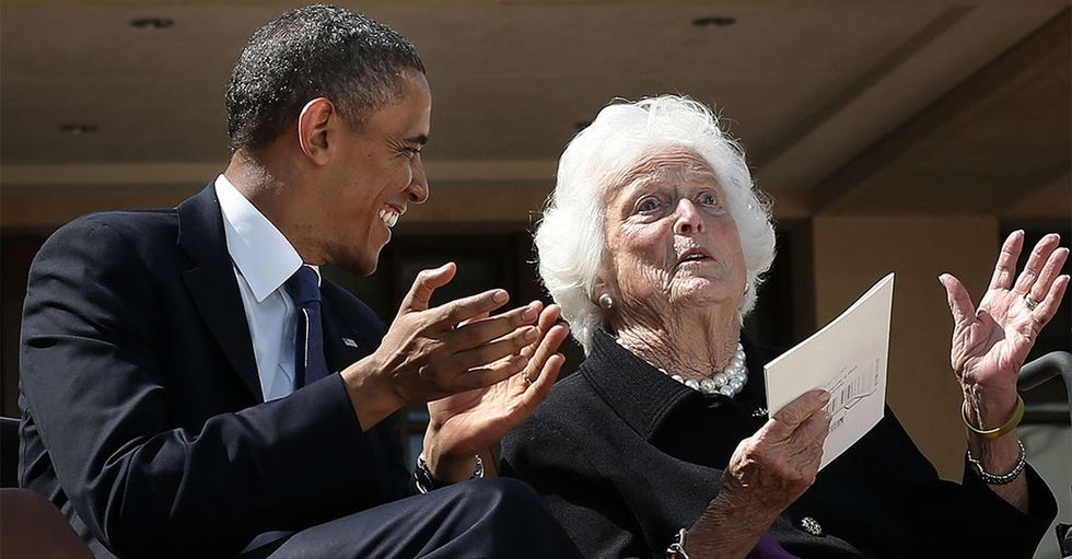 Obama's moving remembrance of the flawed but fierce Barbara Bush is a must-read.